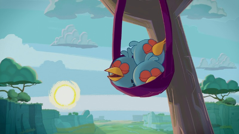 Angry birds seasons summer pignic 129 three stars